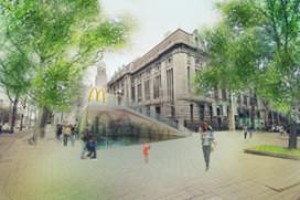 Architecten tekenen alternatief voor 'lelijke' McDonald's