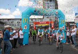 Ruim vier ton bij elkaar gefietst voor Ronald McDonald