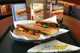 Subway test sandwiches voor veganisten