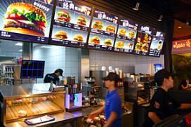 Burger King in de achtervolging in China