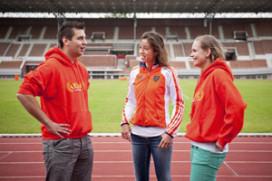 Nederlandse McDonald's medewerkers naar Spelen