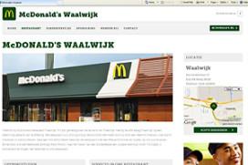 McDonald's Waalwijk tegen komst Burger King