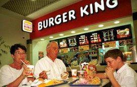 Winst Burger King fors gedaald