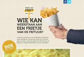 Belgische frietweek gaat maandag van start