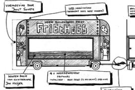 Friethoes bouwt een duurzame snackwagen