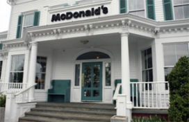 McDonald's in ruim 200 jaar oude mansion