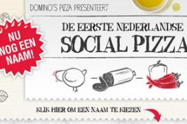 Eerste social pizza van Nederland: Trending Topping