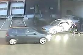 Politie toont video van overval Febo-hoofdkantoor