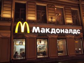 McDonald's gaat franchisen in Rusland