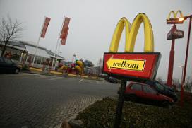 Omzet McDonald's licht gestegen in 2013