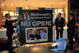 McDonald's open in Apeldoorn Noord