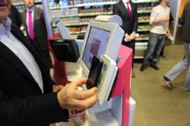 Met digitale guldencoin betalen bij Amsterdamse cafetaria