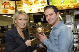 Vaste McDonald's-gast wint gouden Big Mac