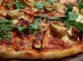 Oogbewegingen bepalen ingrediënten pizza