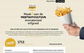 Belgen willen frietkotcultuur op erfgoedlijst