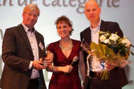 Gepaste trots bij Ad van Geloven over FoodService Award Diepvries