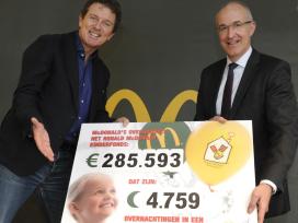 Gasten doneren bijna drie ton aan Kinderfonds