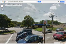 Amerikaanse Burger King sleept auto's ouderen af