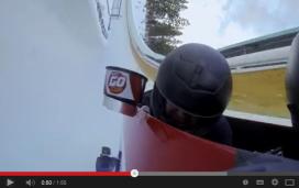 Bobslee-video van KFC slaat aan