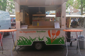 De Vegetarische Snackbar naar Amsterdam