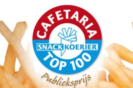 Tussenstand Publieksprijs Cafetaria Top 100