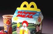 Kinderen ontwerpen Happy Meal-doos