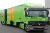 Vrachtwagens McDonald's gaan op frituurolie rijden