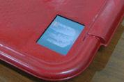 Dienblad met beeldscherm in fastfoodzaken