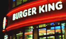 Hamburger van € 100 bij Burger King