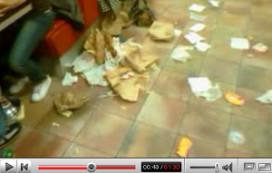 Video op web over puinhoop bij BK