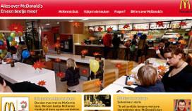 McDonald's komt met nieuwe promotiesite
