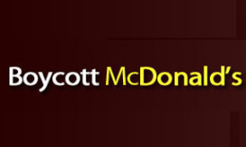 Homohaters boycotten McDonald's
