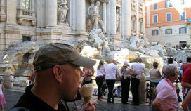 Rome verbiedt snacken rond monumenten