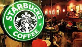 Starbuckskoffie: tweede bakje halve prijs