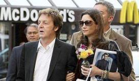 Paul McCartney woest op McDonald's