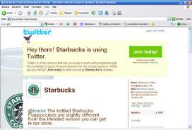 Starbucks gebruikt web voor offline marketing