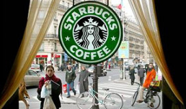 Starbucks op eigen benen in Frankrijk
