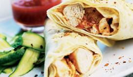 Man eet burrito's voor wereldrecord