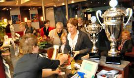 Megadrukte bij Cafetaria Top 100 winnaar