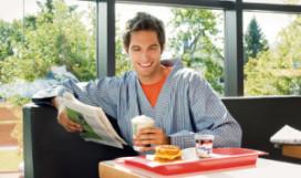 McDonald's stunt met ontbijt
