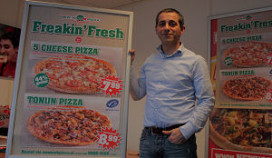 New York Pizza in offensief