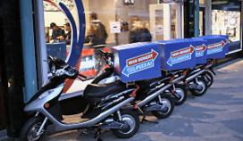 Domino's over twee jaar op elektrische scooters