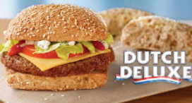 Dutch Deluxe burger bij McDonald's