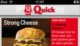 Quick-restaurant vinden met je telefoon