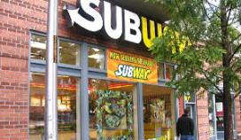 Subway komt op tachtig zaken