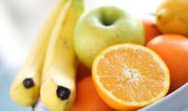 Fruit bij Franse happy meals