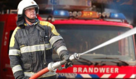 Haven Volendam ontruimd wegens brand shoarmazaak