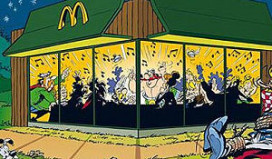 Ophef over Asterix in reclame McDonald's
