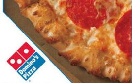 Domino's Pizza floreert op internet