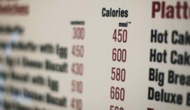 'Calorieën op menu beïnvloedt keuze niet